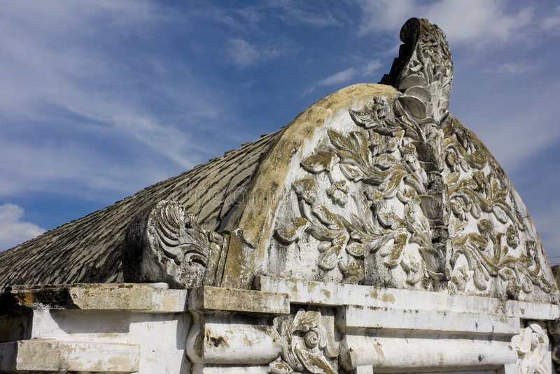 Ancient Royal Building, Yogyakarta, Indonesia
