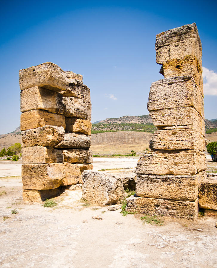 Download Ancient ruins stock image. Image of library, marble, ancient - 27053859