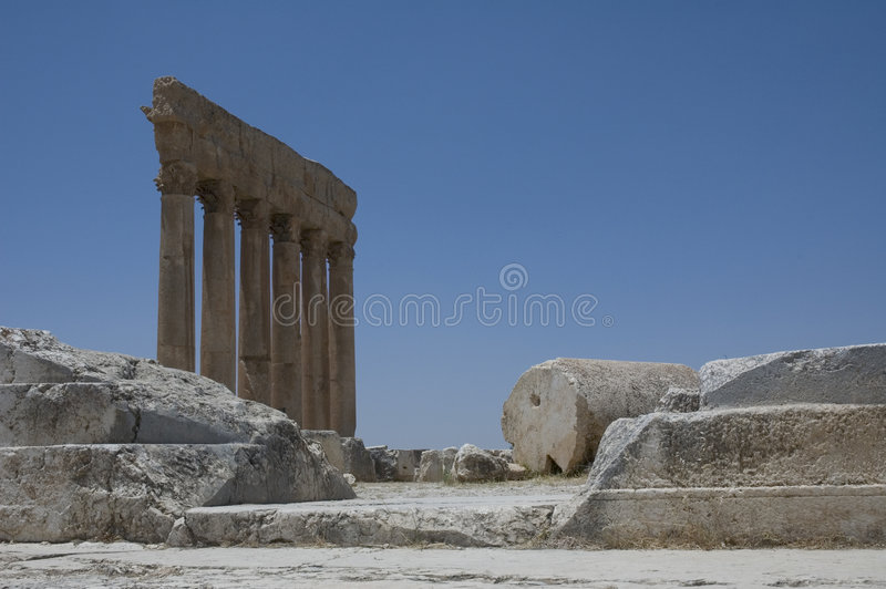 Ancient ruins stock photo