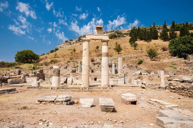 Ancient ruins of Ephesus, Turkey. stock photography
