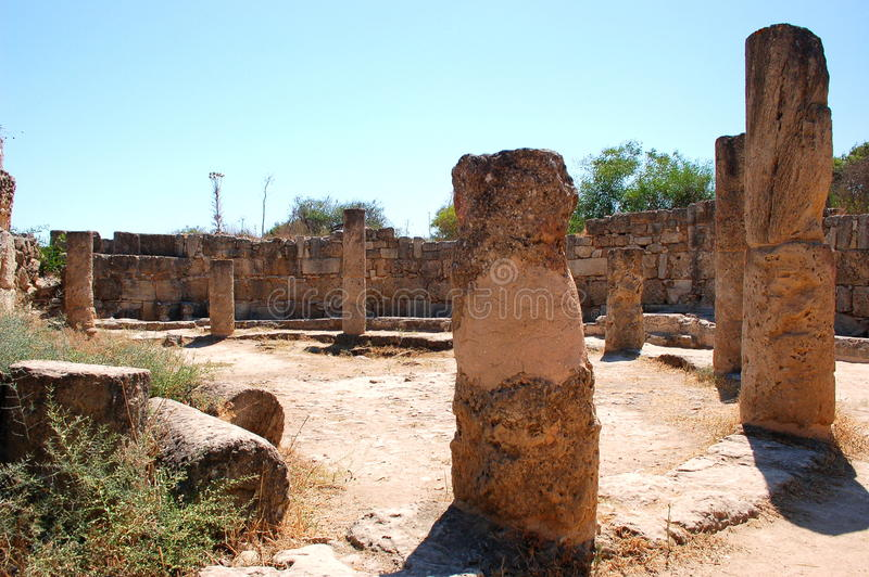 Ancient ruins in Famagusta, Cyprus