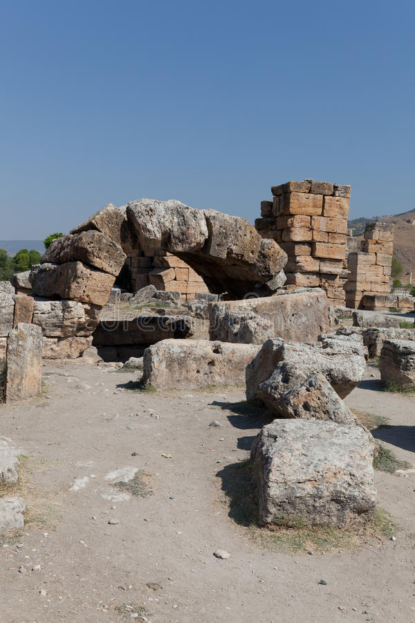 Download Ancient Ruins Hierapolis. Turkey Stock Photo - Image: 21745186
