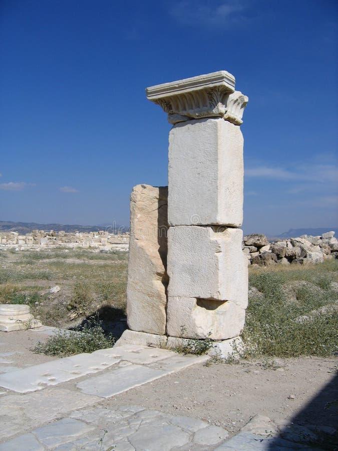 Ancient Ruins of Laodicea royalty free stock photos
