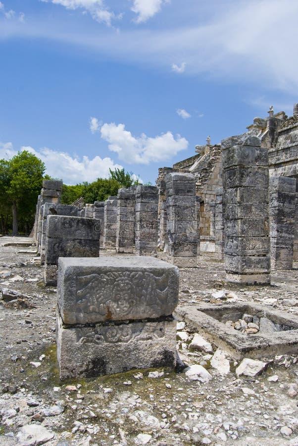 Ancient ruins, Mexico royalty free stock photos