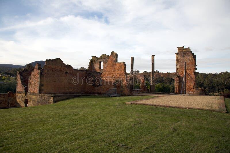 Download Ancient Ruins Prison, Port Arthur In Tasmania Stock Image - Image: 12420359