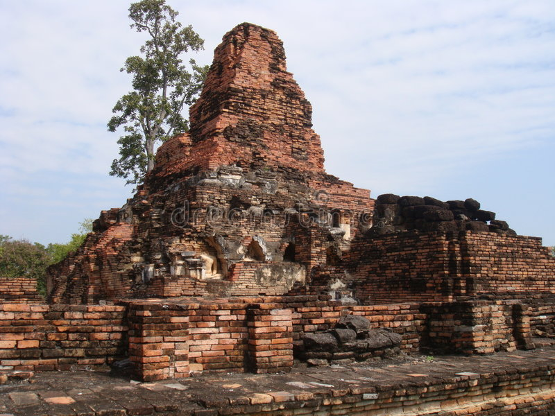 Download Ancient Ruins of Sukhothai stock image. Image of building - 7325531