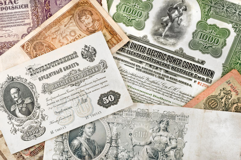 Download Ancient Russian Money Royalty Free Stock Image - Image: 14667986