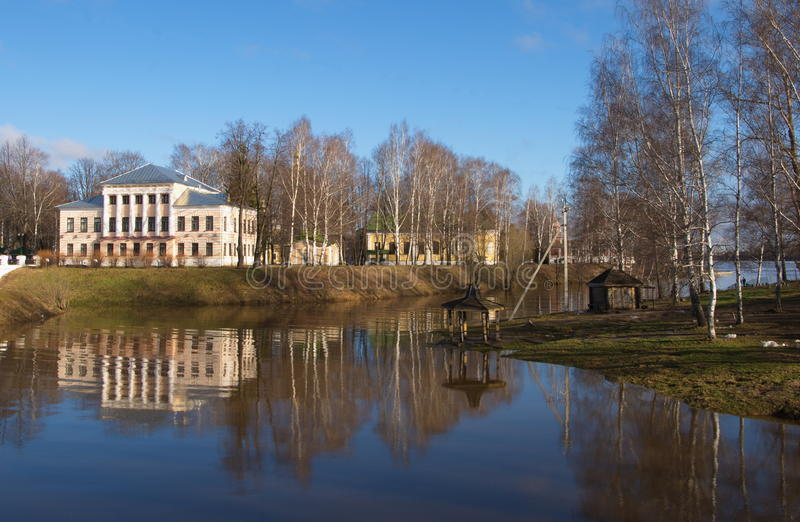 An ancient Russian town of Uglich royalty free stock photography