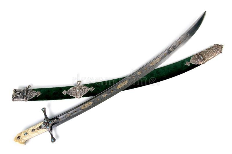 Ancient sabre.