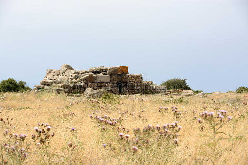 Ancient Sardinia royalty free stock photography