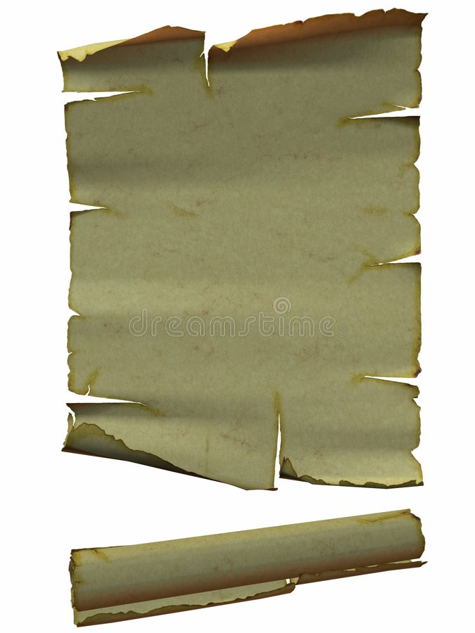 Ancient Scrolls Royalty Free Stock Photo