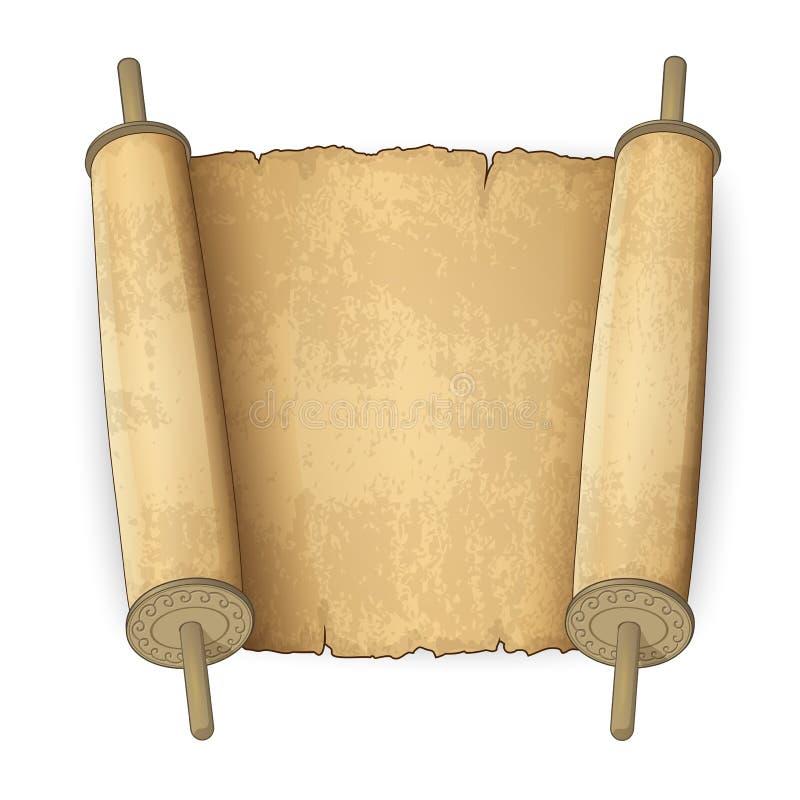 Ancient Scroll: Ancient Scrolls Stock Vector. Illustration Of Manuscript