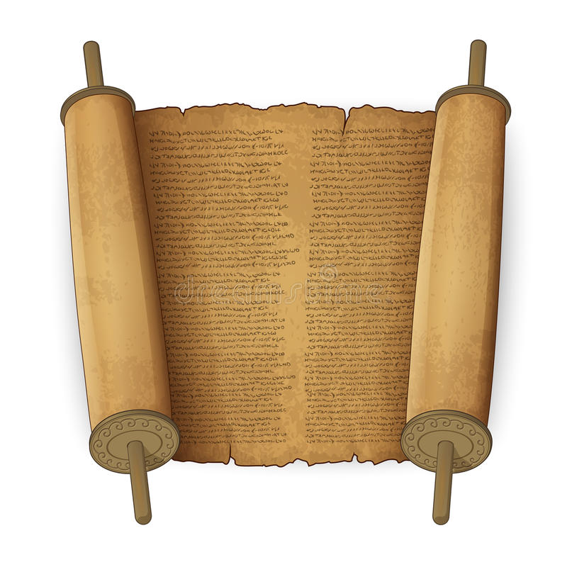Free Ancient Scrolls With Text Royalty Free Stock Images - 29328629