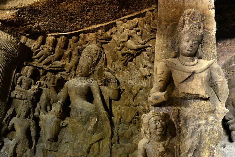 Download Ancient Sculptures stock image. Image of archaeological - 46499835