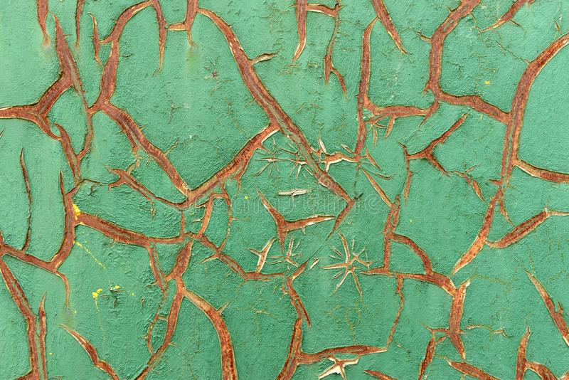 Ancient shabby paint, background, texture stock images