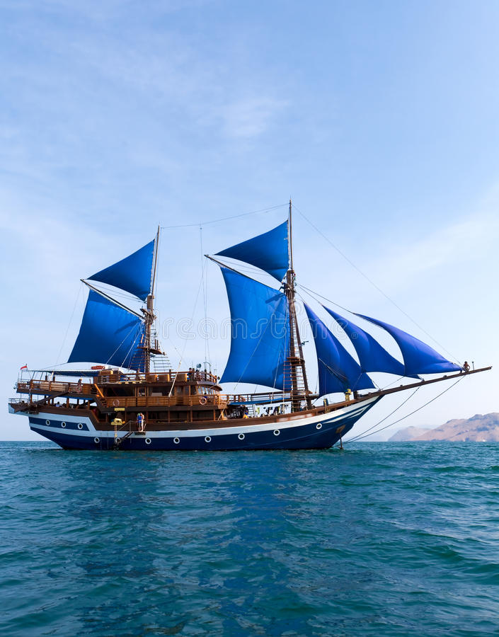Ancient ship royalty free stock photo