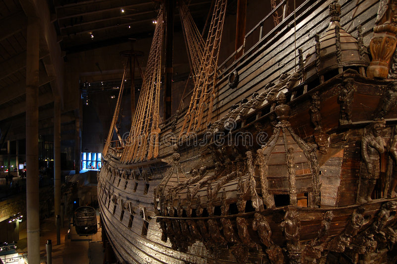 Ancient ship, vessel royalty free stock photos