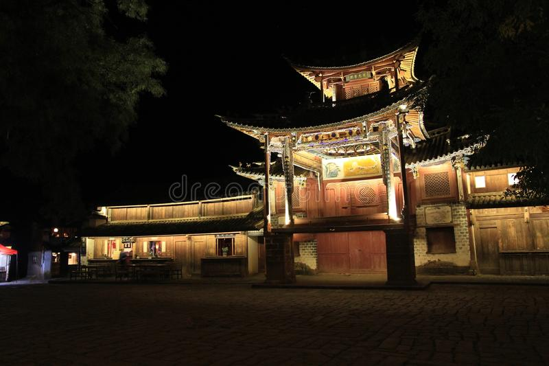Download Ancient stage stock image. Image of view, stage, yunnan - 27719495