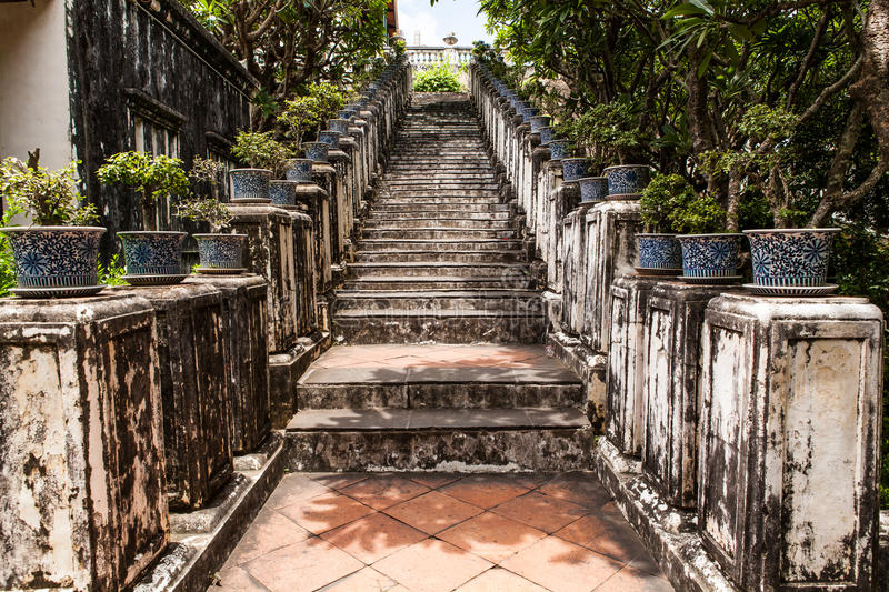 Download Ancient Stair At Thailand Palace Stock Image - Image: 33332401