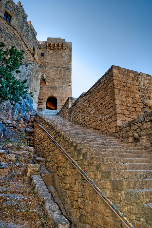Free Ancient Stairway Royalty Free Stock Photos - 7602388