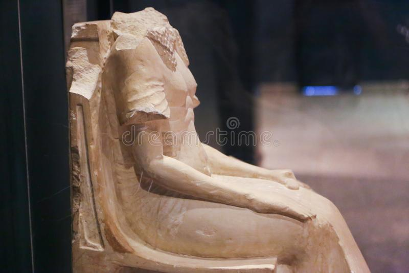 Ancient Statue at Luxor Museum - Egypt royalty free stock images
