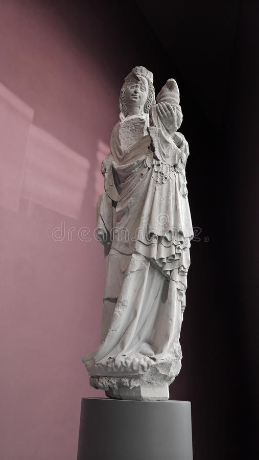 Ancient statue royalty free stock images