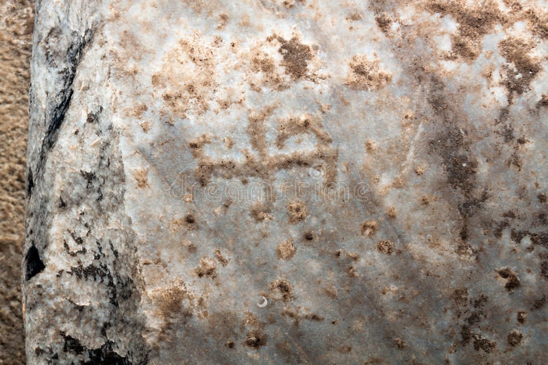 Ancient stone background royalty free stock photography