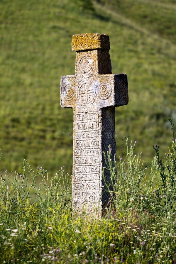 Download Ancient stone cross stock image. Image of design, handmade - 22846143