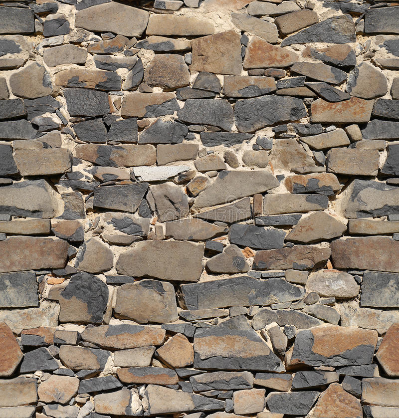 Ancient stone wall, wallpaper background royalty free stock photo