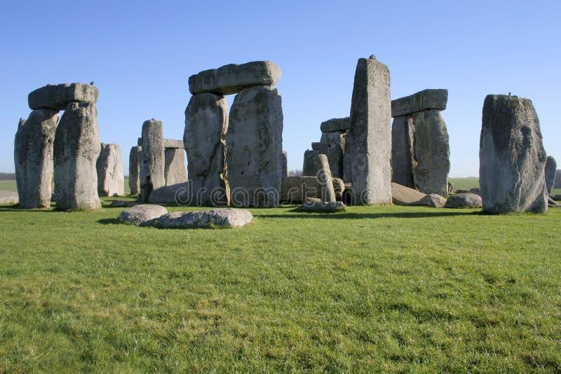 Ancient Stonehenge royalty free stock photography