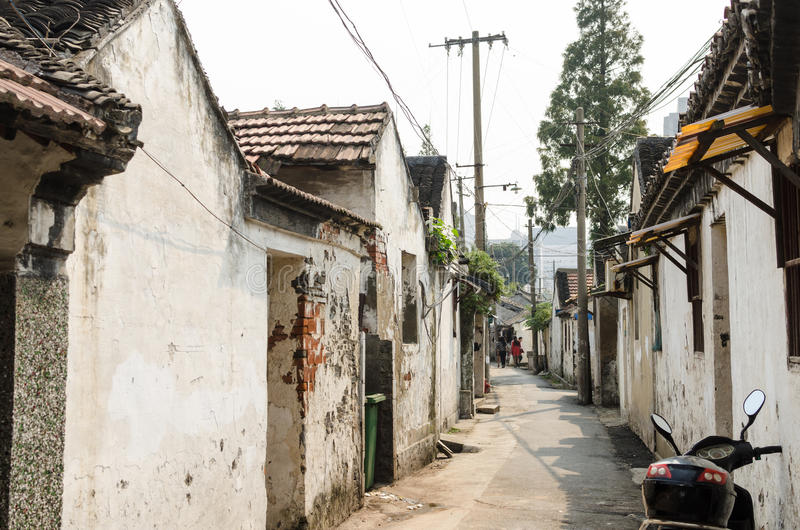 Ancient streets stock photography