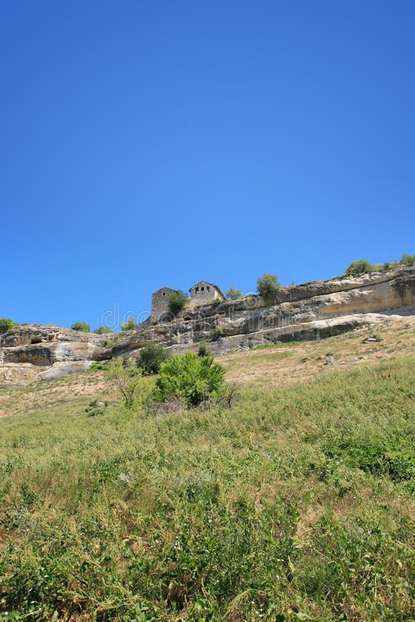 Ancient Stronghold On The Hill Royalty Free Stock Photography