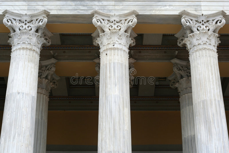 Download Ancient-Style Columns stock photo. Image of stone, marble - 1693308