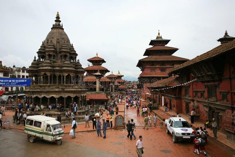 Ancient temple, Bhaktapur,nepal stock photo