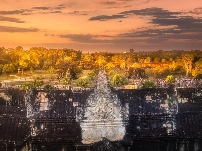 Download Ancient Temple Complex Angkor Siem Reap, Cambodia Stock Image - Image of cambodia, bayon: 111415613