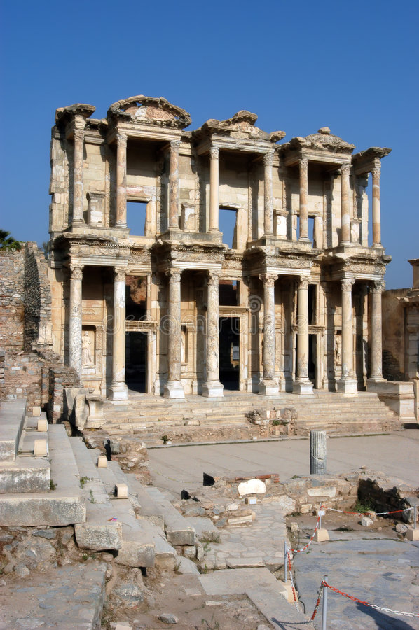 Download Ancient Temple In Ephesus Royalty Free Stock Image - Image: 6242546