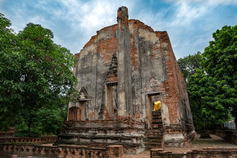 Ancient temple in Thailand(Borom Phuttharam Temple). Ancient temple in Thailand& x28;Borom Phuttharam Temple, antiques, architectural, architecture stock images
