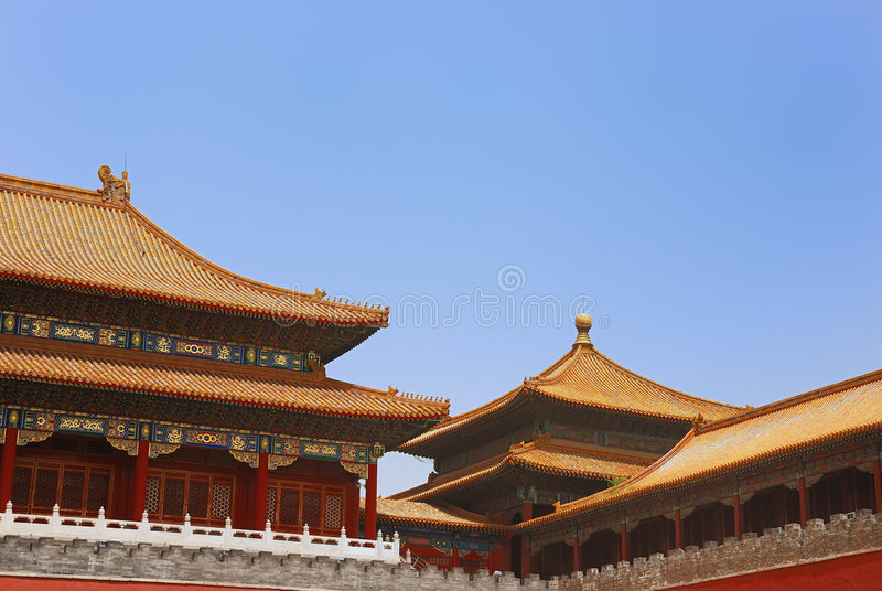 Ancient temples royalty free stock photos