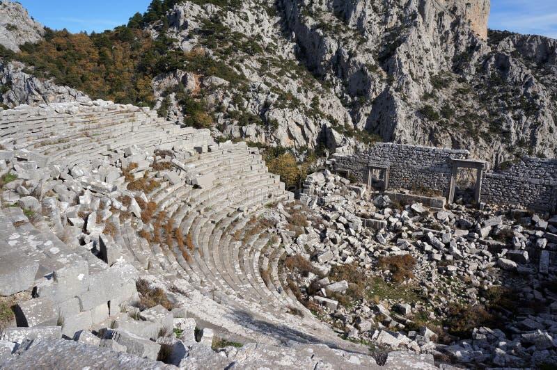 Ancient Termessos in Antalya royalty free stock photo