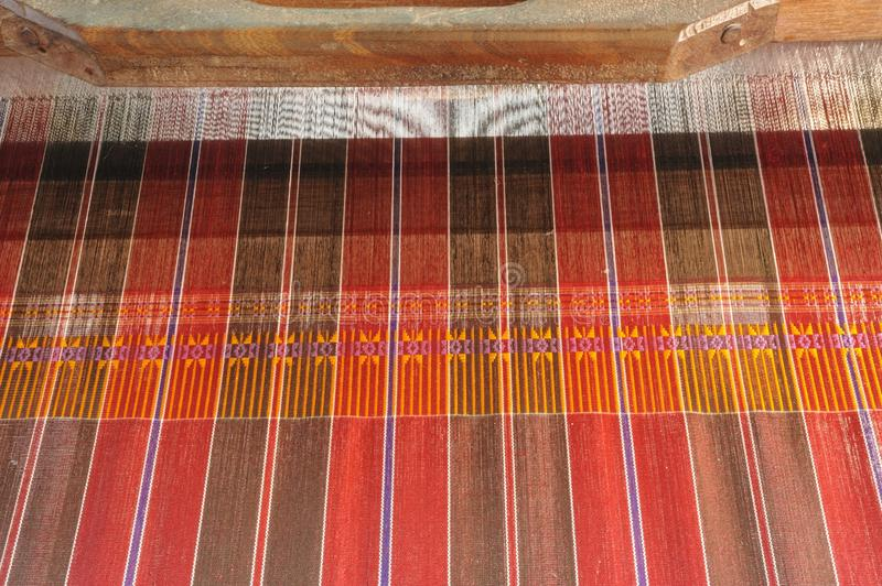 Download Ancient thai woven cloth. stock image. Image of isolated - 32851753
