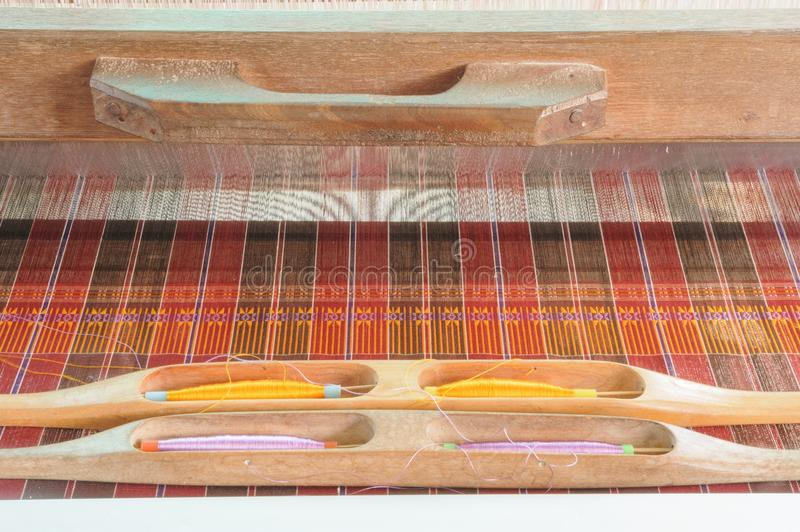 Ancient Thai Woven Cloth. Stock Photography