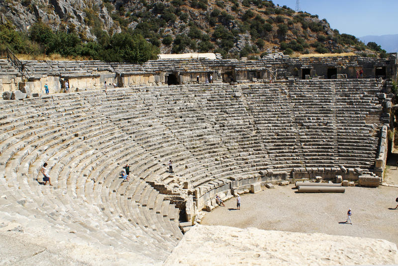 Ancient theater. royalty free stock images