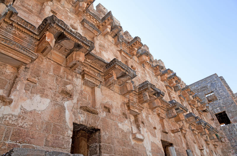 Download Ancient Theatre Of Aspendos In Turkey Stock Photo - Image: 25358642