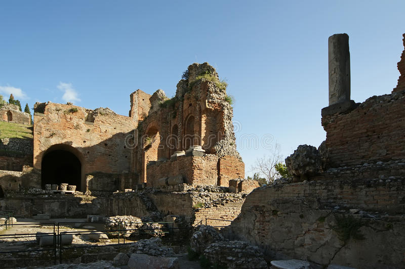 Download Ancient Theatre Of Taormina, Italy Stock Photo - Image: 21584826