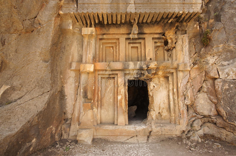 Download Ancient tomb stock image. Image of middle, castle, turkey - 19051773