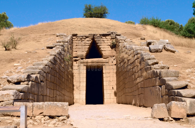 The ancient tomb