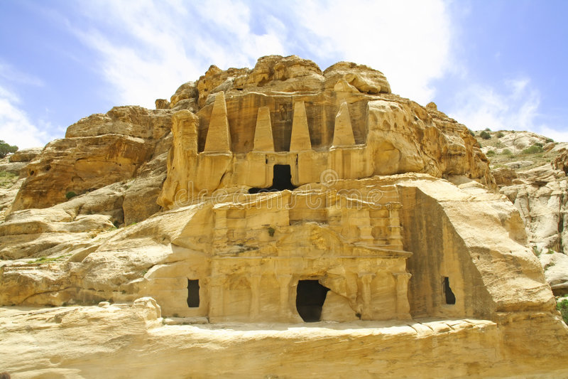 Ancient tombs royalty free stock images