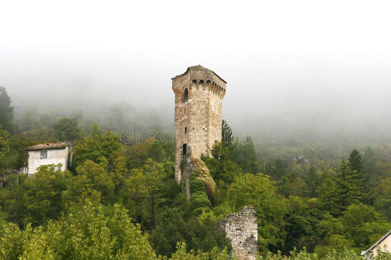 Download Ancient Tower In Castellane (Provence) Stock Image - Image: 11324287