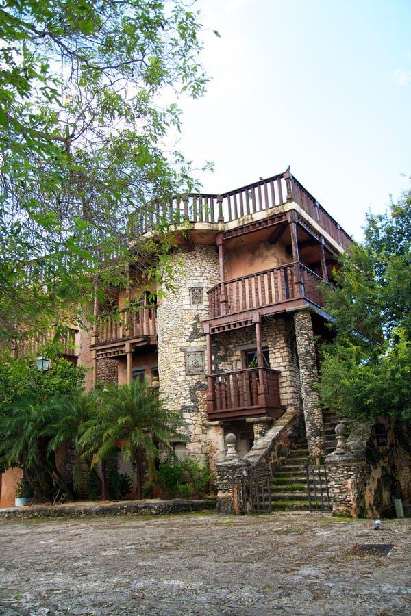 Ancient town Altos de Chavon. Dominican Republic stock photo