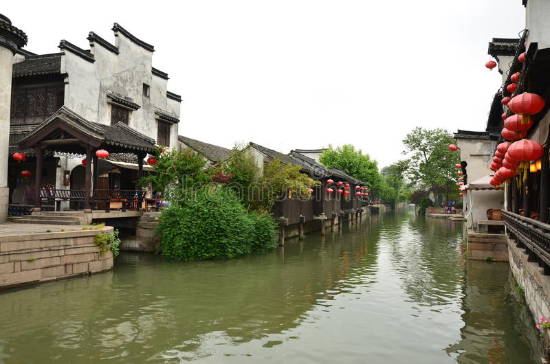 The ancient town of Nanxun stock image